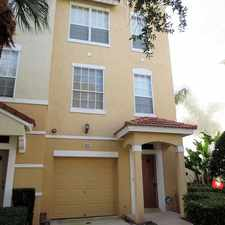 Rental info for Townhouse In Prime Location in the Tampa area