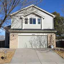 Rental info for Spacious 4 Bedroom, 3. 5 Bathroom Home For Rent in the Colorado Springs area