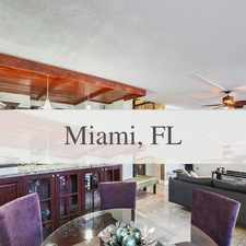 Rental info for Outstanding Opportunity To Live At The Miami Ci... in the Miami area