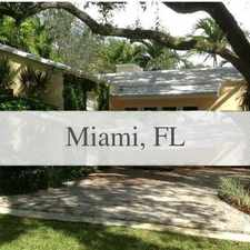 Rental info for Beautiful Miami House For Rent. Will Consider! in the Coral Gables area