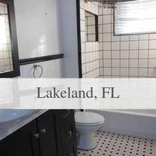 Rental info for Lake Hollingsworth - Florida Southern College A...
