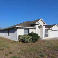 Rental info for Debary: 4/3 Single Family Home- $1695. 00 in the DeBary area