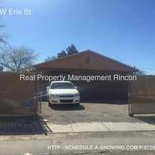 Rental info for 1003 W Erie St. in the Barrio Hollywood area