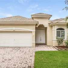 Rental info for 2956 Southwest 134th Avenue in the Pembroke Pines area