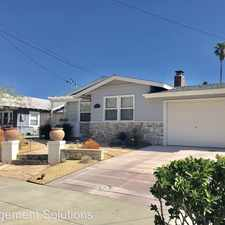 Rental info for 4821 Kenmore Terrace in the San Diego area