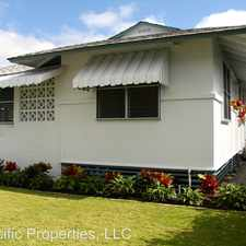 Rental info for 740 Kahoa Dr in the Kailua area