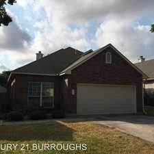 Rental info for 5854 Spring Crossing in the San Antonio area
