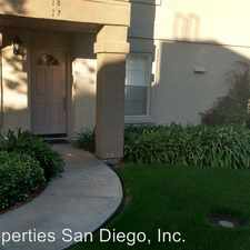 Rental info for 10646 Aderman Ave. #17 in the San Diego area
