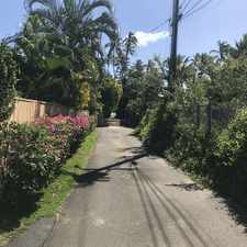 Rental info for 4715-C Kahala Ave