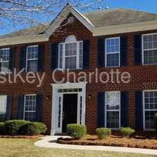 Rental info for 620 Wilderness Trail Drive Charlotte NC 28214 in the Charlotte area