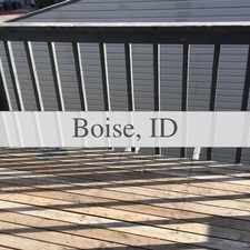 Rental info for Convenient Location 2 Bed 1 Bath For Rent. $775/mo in the Boise City area