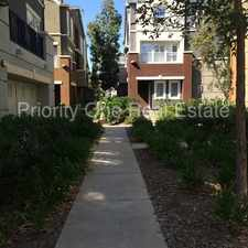 Rental info for 3 bedroom, 2.5 bath, 1485 sq ft. town home right in the heart of Spectrum Center in the San Diego area