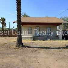 Rental info for 2 bed 1 bath home near downtown! Huge private yard! in the Phoenix area