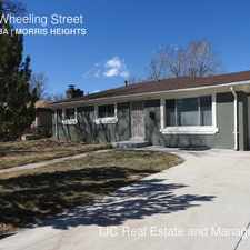 Rental info for 3173 Wheeling Street in the Denver area