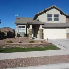 Rental info for 13277 Walker Post in the El Paso area