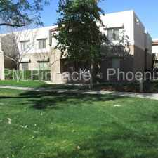 Rental info for 2 Bedroom Condo available! in the Phoenix area