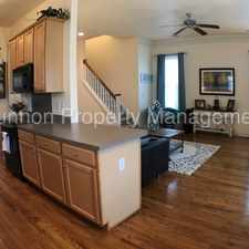 Rental info for Beautiful 3 BR 2.5 BA Home in Douglas Park in the Charlotte area