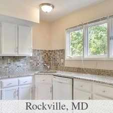 Rental info for Rockville, 4 Bedrooms - In A Great Area. in the Rockville area