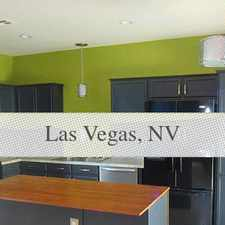 Rental info for House In Quiet Area, Spacious With Big Kitchen in the Las Vegas area