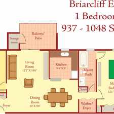 Rental info for 1 Bedroom With Den, Classic, Third Floor With in the Cockeysville area