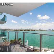 Rental info for $4000 0 bedroom Apartment in South Beach in the Miami area