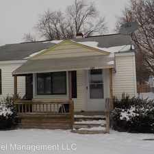 Rental info for 1369 Jolson Ave. in the 48529 area