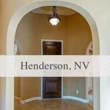 Rental info for House In Move In Condition In Henderson in the Henderson area