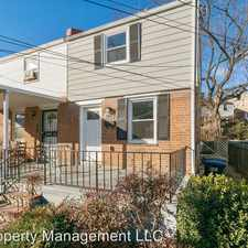 Rental info for 5204 Hayes Street NE in the Washington D.C. area