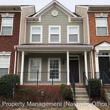 Rental info for 7029 Sunnywood Drive in the Nashville-Davidson area