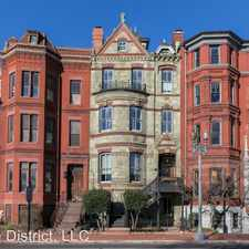 Rental info for 6 Logan Circle NW #1 in the Washington D.C. area