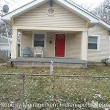 Rental info for 836 Tecumseh St. in the Indianapolis area