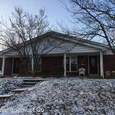 Rental info for 10166 Buffton Drive in the Affton area