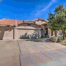 Rental info for 313 N CORRINE Drive Gilbert Four BR, Welcome Home to Stone