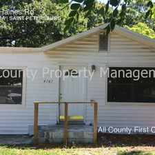 Rental info for 4767 Haines Rd in the St. Petersburg area