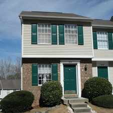 Rental info for Nice Townhome Within Walking Distance To UNCC in the Charlotte area