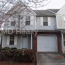 Rental info for 11350 Yellow Spaniel Court in the Charlotte area