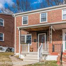 Rental info for 2810 Topaz Rd in the Parkville area