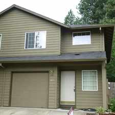 Rental info for 317 Townhome With Fenced Backyard. in the Hillsboro area