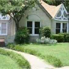 Rental info for House For Rent In Fort Worth. Washer/Dryer Hook... in the Fort Worth area