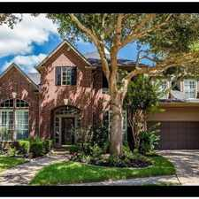 Rental info for Attractive 1 Bed, 2 Bath in the Houston area