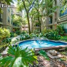 Rental info for Two Bedroom In West Houston in the Houston area