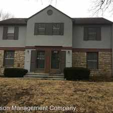 Rental info for 7534 TERRACE STREET in the Kansas City area