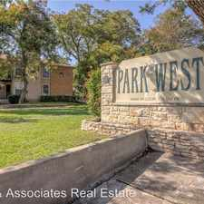 Rental info for 10616 Mellow Meadows Drive in the Cedar Park area
