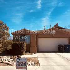 Rental info for Available Now!! Don't miss out! in the Albuquerque area