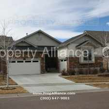 Rental info for Ranch Home In Great Location and Neighborhood-Beacon Point-80016 in the Aurora area