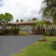 Rental info for 3/2 Home with Pool in the Fort Lauderdale area