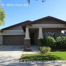 Rental info for 20987 W. White Rock Rd.