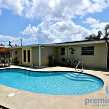 Rental info for 3697 Holiday Road in the Palm Beach Gardens area