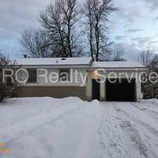 Rental info for Three bedroom home with attached garage!
