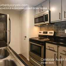 Rental info for 2338 Douglas in the Austin area